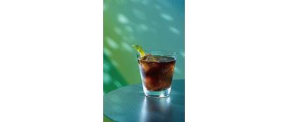 「Goldentree キンモク星」(1000円)コールドブリューコーヒーにフレッシュグループフルーツを合わせた