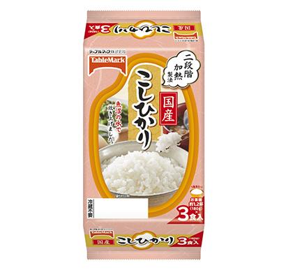 包装米飯特集:テーブルマーク 前期上回る成長目指す 認知獲得活動に注力