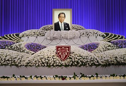 故・比屋根毅氏(エーデルワイス会長)お別れの会