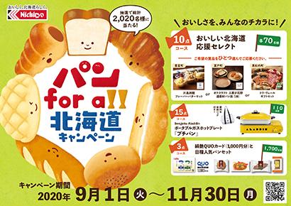 日糧製パン、北海道特産品を景品にキャンペーンで地域支援