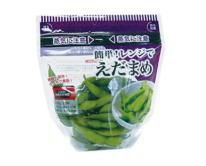 野菜・野菜加工特集:機械・資材=精工 レンジ対応包材採用増