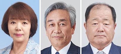 左から林香与子氏、寺田直行氏、炭井孝志氏