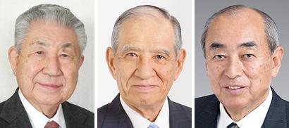 左から梶原徳二氏、山田憲典氏、本多市郎氏