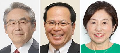左から網田日出人氏、上田真氏、藤原恵子氏