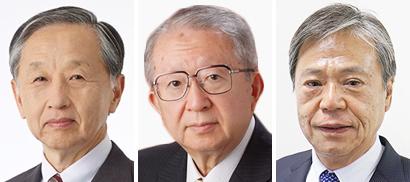 左から宗兼邦生氏、三浦紘一氏、竹内成雄氏