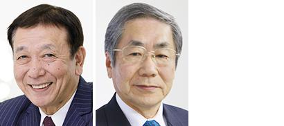 左から櫻田厚氏、鵜飼良平氏