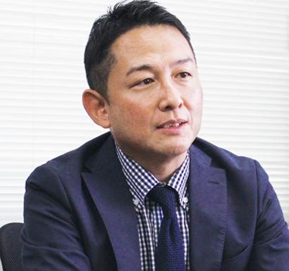 清長物流事業本部営業部部長日朝健一氏