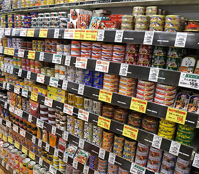 缶詰・瓶詰・レトルト食品特集:缶詰=備蓄から家飲みへ 畜肉好調で市場急拡大