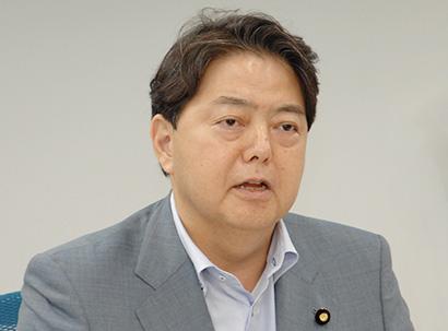 食品経営者フォーラム、林芳正参議院議員が講演 日本が進む道を作る 財政支出惜…