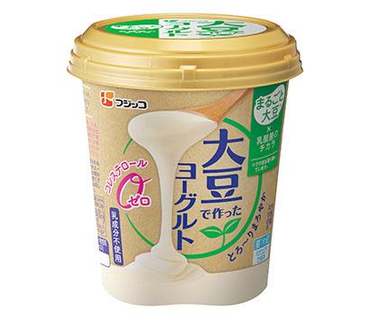 ヨーグルト・乳酸菌飲料特集:フジッコ 「大豆で作ったヨーグルト」拡販