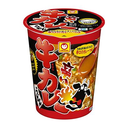 「マルちゃん 辛い牛カレーうどん」発売(東洋水産)