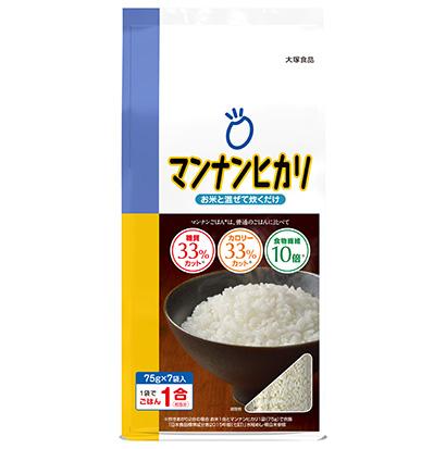 コメビジネス最前線特集:大塚食品 低糖質ごはん「マンナンヒカリ」定番へ