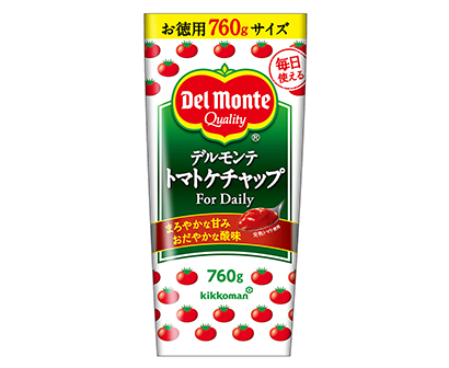 トマト加工品特集:キッコーマン食品 「For Daily760g」付加価値と…