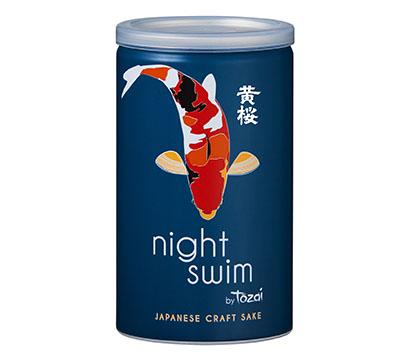 黄桜、「night swim」発売 海外で人気の缶清酒