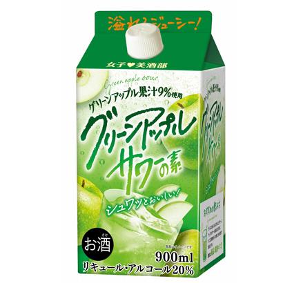 中国醸造、「女子美酒部グリーンアップルサワーの素」新発売