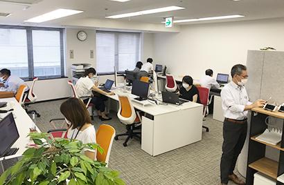 ニチレイロジグループ本社、川崎駅近隣に初のサテライトオフィス開設