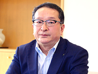 北海道流通特集:北海道酒類販売・伊関淑之社長 提案力さらなるレベルアップ