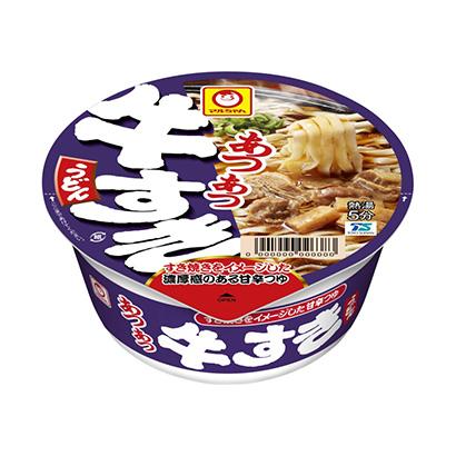 「マルちゃん あつあつ牛すきうどん」発売(東洋水産)