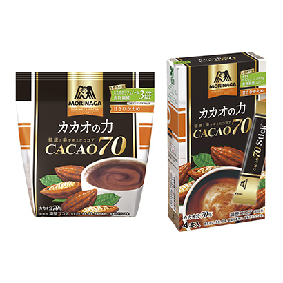 「カカオの力 CACAO70」発売(森永製菓)