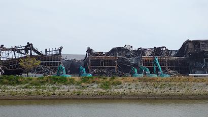 全国卸流通特集:日本アクセス 物流拠点岩沼物流センター火災