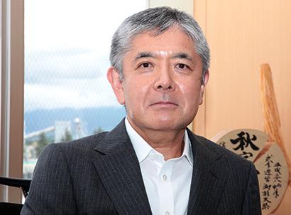 全国卸流通特集:マルイチ産商・平野敏樹社長 「変革」成し遂げ「飛躍」へ