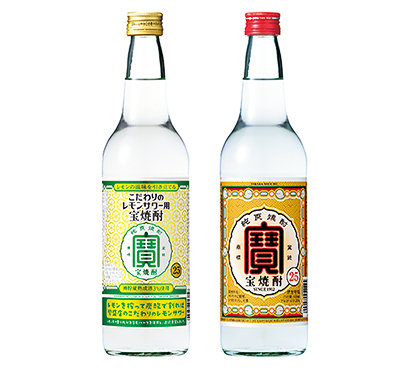 宝酒造・甲類焼酎戦略 「宝焼酎」の品質と伝統訴求 若年層のトライアル獲得も