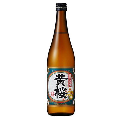 黄桜、金賞の特撰純米吟醸に720ml瓶を投入