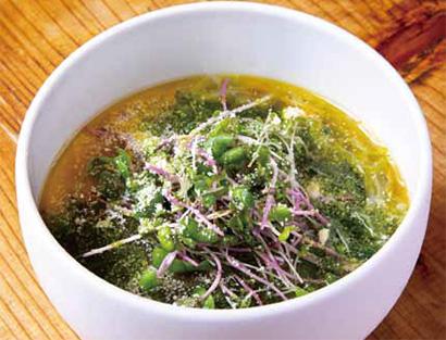 街で見つけた繁盛メニュー その発想に学べ!(17)「冷製スープパスタ風 ベジ…