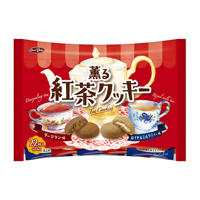 「薫る紅茶クッキー」発売(正栄デリシィ)