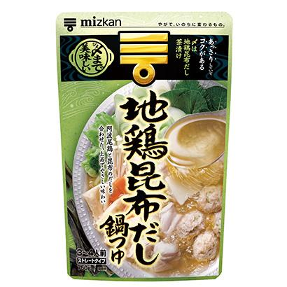 """鍋物調味料特集:Mizkan """"地鶏昆布だし""""を投入"""