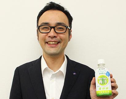 伊藤園 ドリンク青汁市場創造へ(3)マーケティング担当者の思い