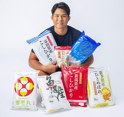 大和産業、ヤマトライスCMにラグビー日本代表・姫野和樹選手を起用