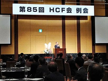 服部コーヒーフーズがHCF会例会 スリム化、市販強化を 服部社長が厳しい現状…
