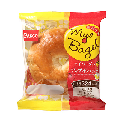 「My Bagel アップルハニー」発売(敷島製パン)