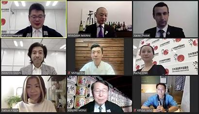 日本酒造青年協議会、Webで叙任式 5人が「酒サムライ」に