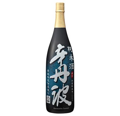 清酒特集:大関 「辛丹波」に純米酒投入