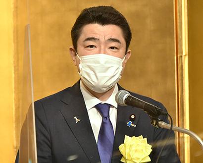 農林水産大臣 野上浩太郎氏