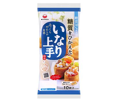 低糖質商品特集:みすずコーポレーション 「ロカボいなり寿司」訴求