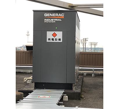 GENERAC200kw LPガス発電機