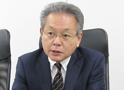 ヤマエ久野70周年記念特集:坂田雄二執行役員 醸造用商材売上げ比率高まる