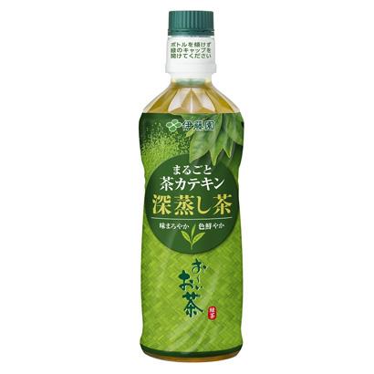 「お~いお茶 まるごと茶カテキン 深蒸し茶」発売(伊藤園)