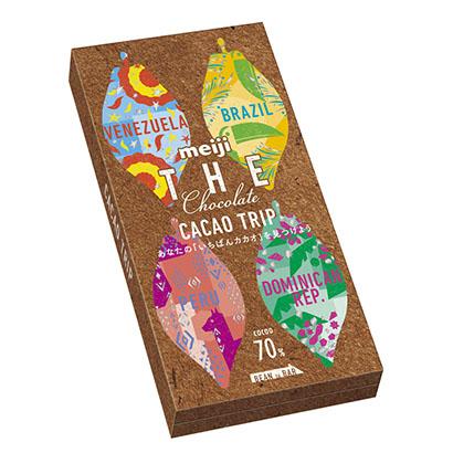 明治「ザ・チョコレート」、産地別香味食べ比べ可能なアソートタイプ発売