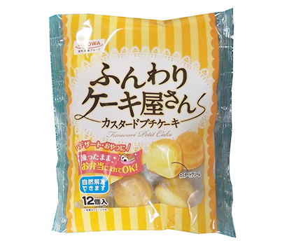 冷凍食品特集:昭和冷凍食品 自社工場製品が好調 家庭用プチケーキの採用進む
