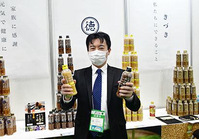 徳島産業、大ヒット商品「たっぷりたまねぎポン酢」シリーズPR 新味2品も