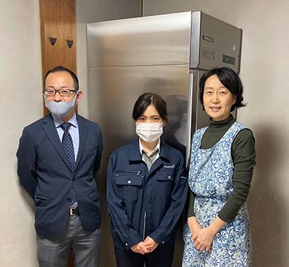 フクシマガリレイ、大阪の子ども食堂へ業務用冷蔵庫寄贈