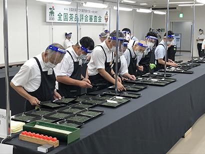 緑茶特集:第74回全国茶品評会審査会 新たな形で実現