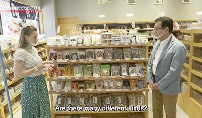 乾物・海産物・豆類特集:萬藤 「伝統の味」を紹介 社長、海外向け番組に