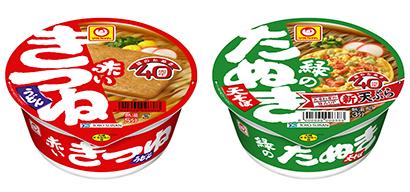 """即席麺特集:東洋水産 """"赤・緑""""訴求図る 好調「QTTA」広い層から支持"""