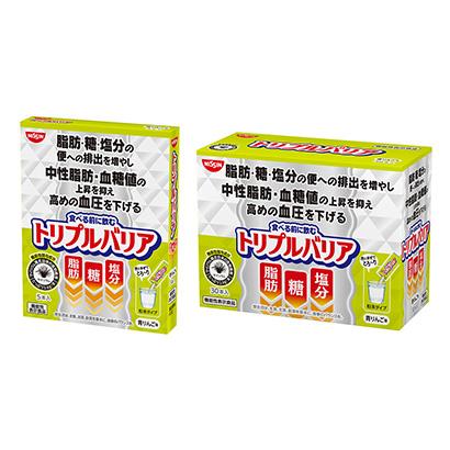 「トリプルバリア 青りんご味」発売(日清食品)