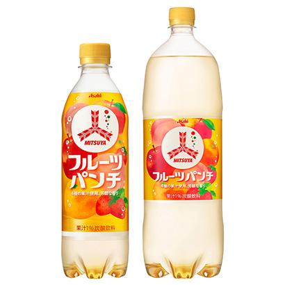 「三ツ矢 フルーツパンチ」発売(アサヒ飲料)